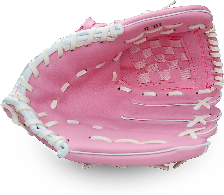 NJunicorn Uncle Kinder Teen Baseball Set mit Baseballschl/äger Baseballhandschuh Standard Nr.9 PU Baseball Tasche Rechte Handwurf