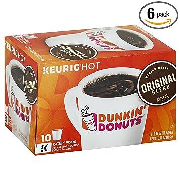 Dunkin Donuts Original Blend Coffee for Kcup Pods Medium Roast