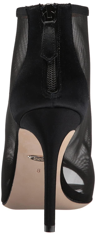 Badgley Mischka Women's Moss B(M) Ankle Boot B07351WF62 8.5 B(M) Moss US|Black abe331