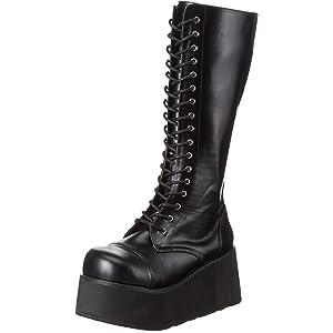 outlet store 1da5b 0fb89 Amazon.com | Pleaser Men's Mega 602 Lace-Up Boot, Black ...