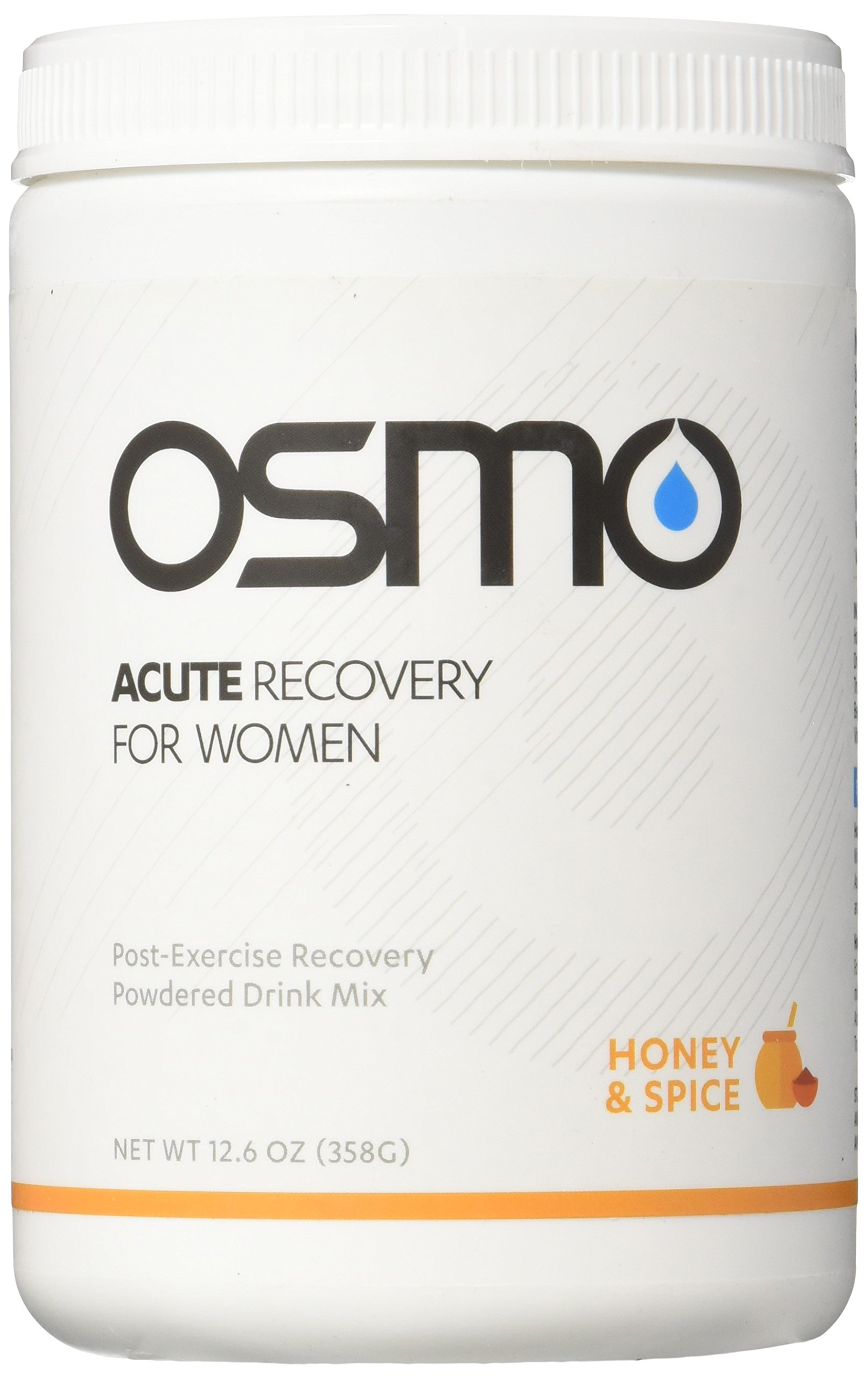 OSMO Nutrition Acute Recovery for Women, Honey and Spice, 12 Serving Canister, 12.6oz