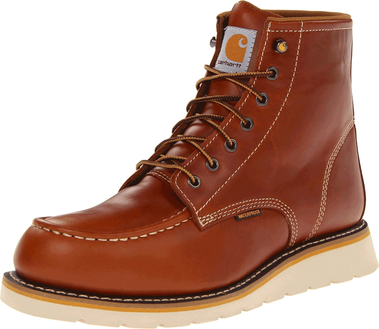 Amazon.com: Carhartt Men's CMW6170 Work Boot,Tan Full Grain,9 W US ...