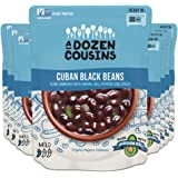 A Dozen Cousins Meals Black Beans Ready to Eat, Vegan and Non-GMO Seasoned Beans Made with Avocado Oil (Cuban Black…