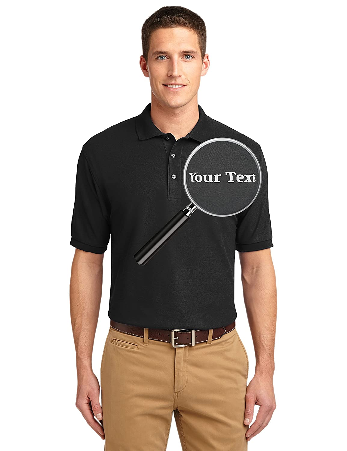 Amazon Custom Embroidered Shirts Add Your Text Personalized