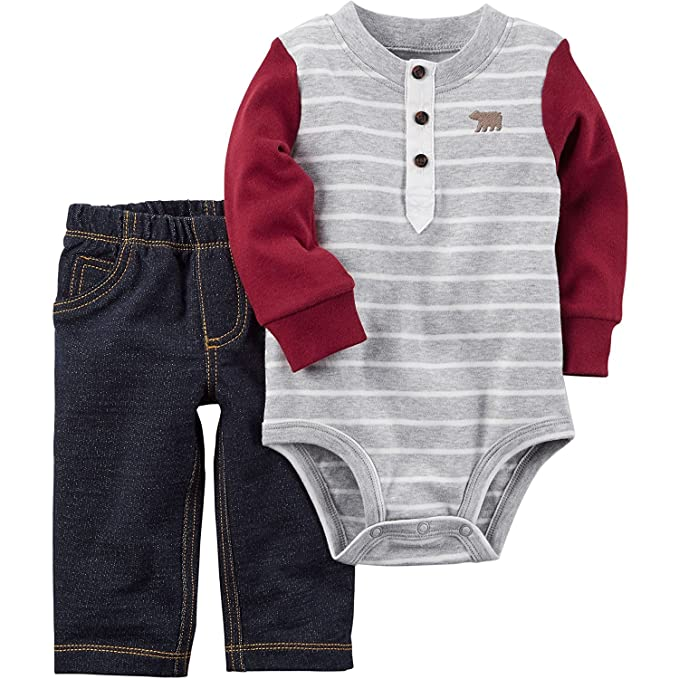 a84107771fa8 Amazon.com: Carter's Baby Boys' Bodysuit Pant Sets 121h164: Clothing
