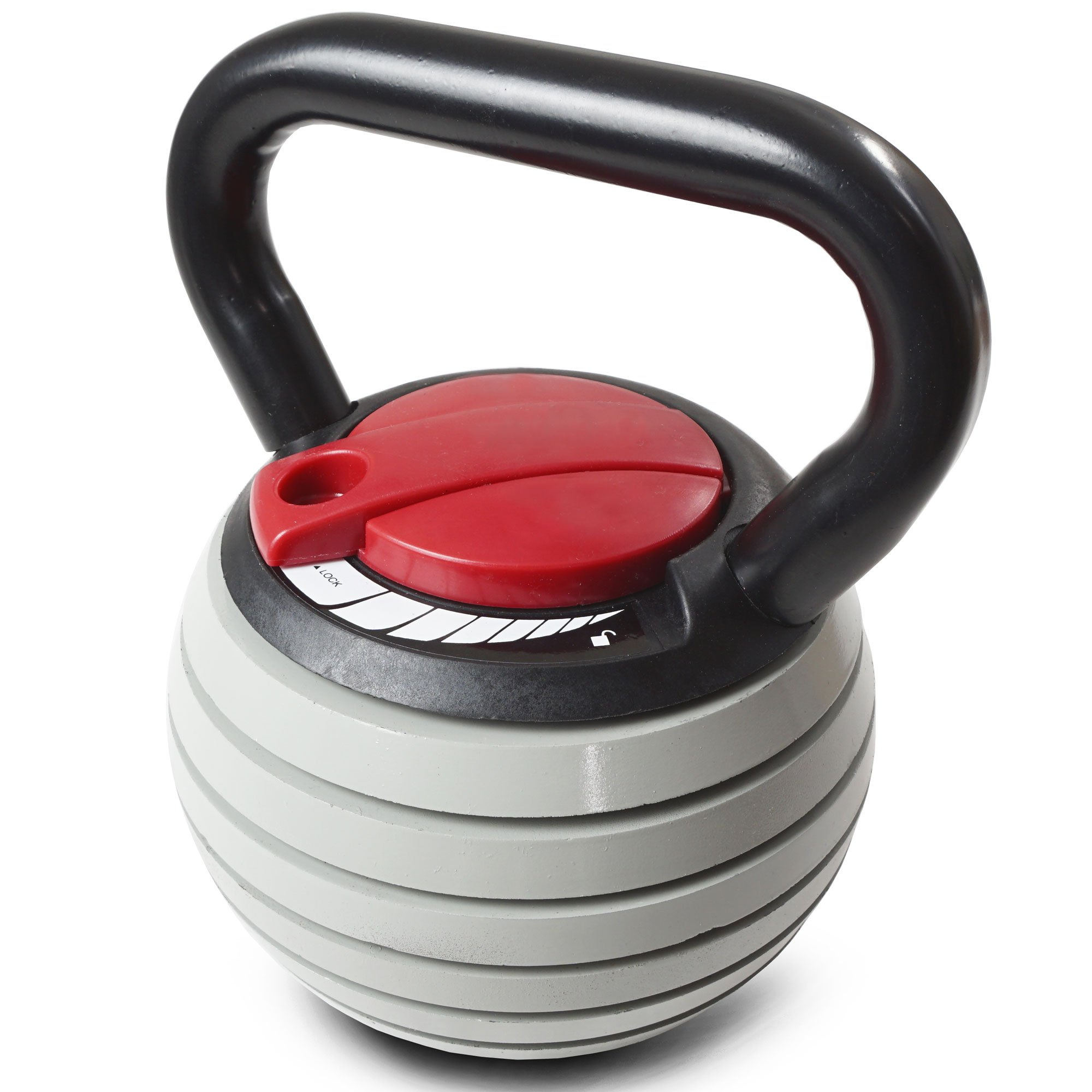 Titan Fitness 10 - 40 lb Adjustable Kettlebell Weight Lifting Swing Workout by Titan Fitness