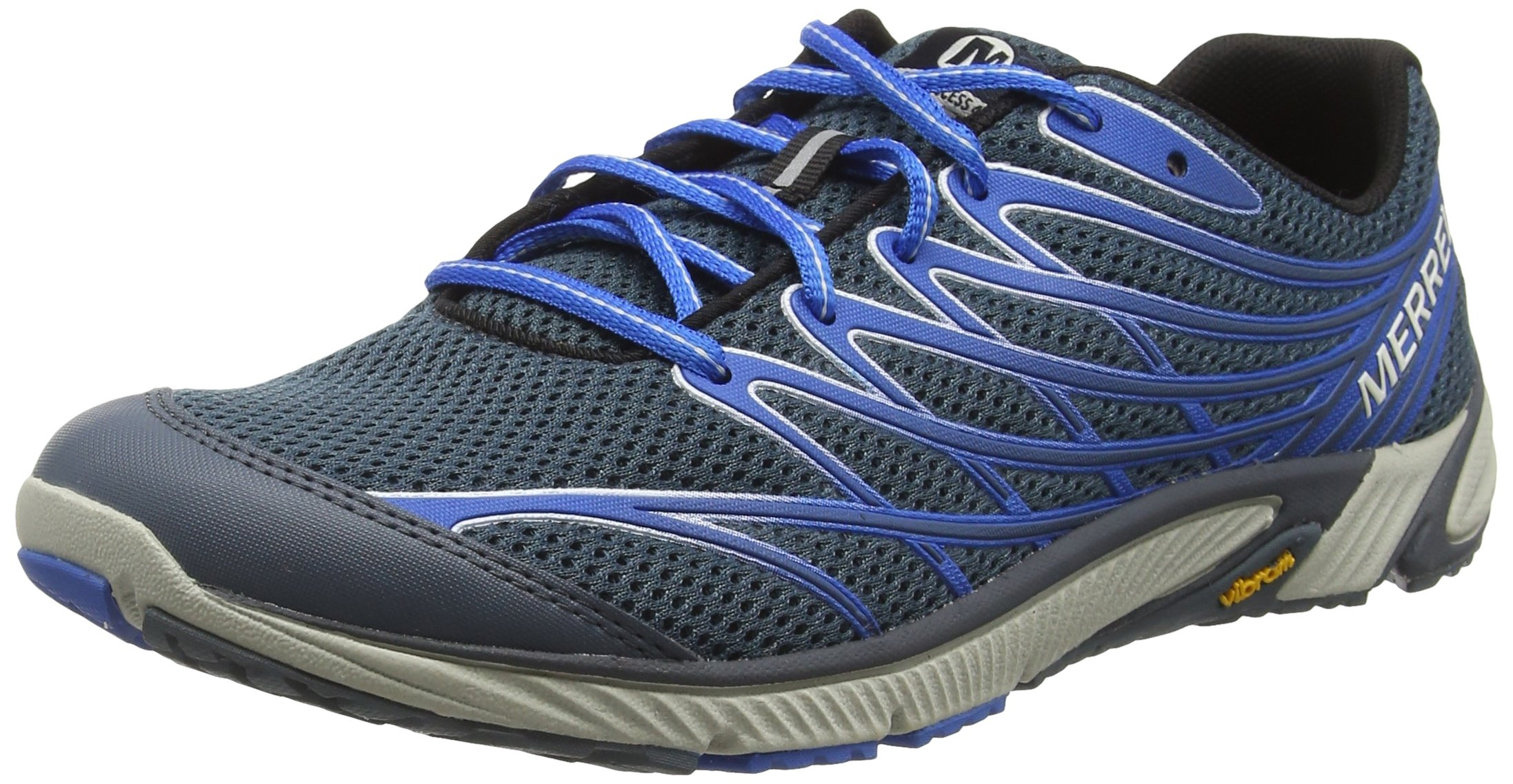 Merrell Men's Bare Access 4 Trail Running Shoe, Dark Slate, 11 M US by Merrell