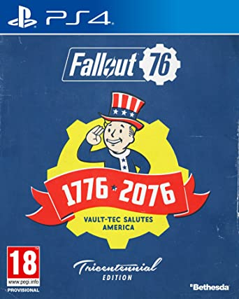 Fallout 76: Tricentennial Edition (PS4): Amazon co uk: PC