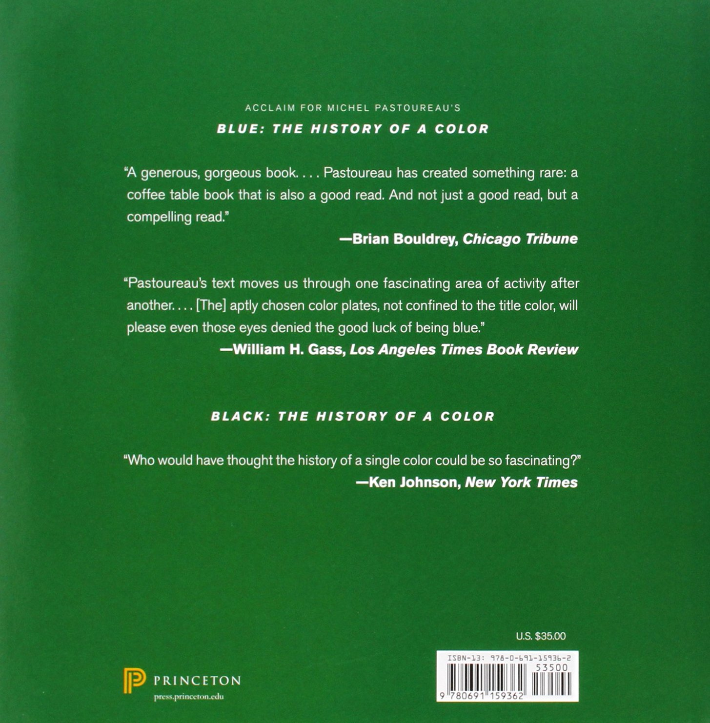 Green: The History of a Color: Michel Pastoureau: 9780691159362 ...