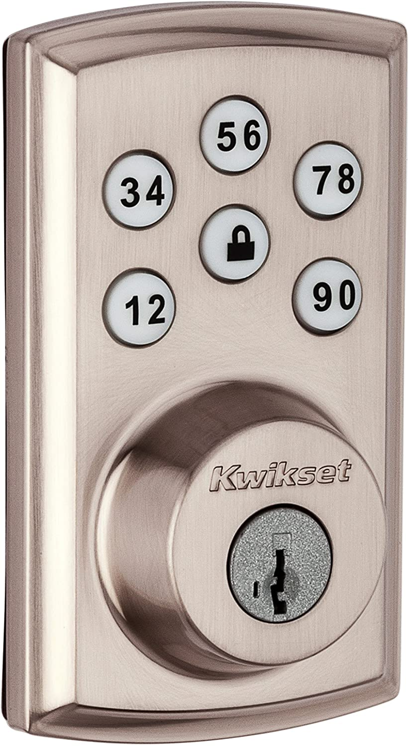 Kwikset SmartCode 888 Touchpad Electronic Deadbolt with Z-Wave