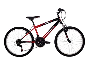 a6d1b75d3c6 Raleigh Extreme Boys  Mountain Bike Red Black