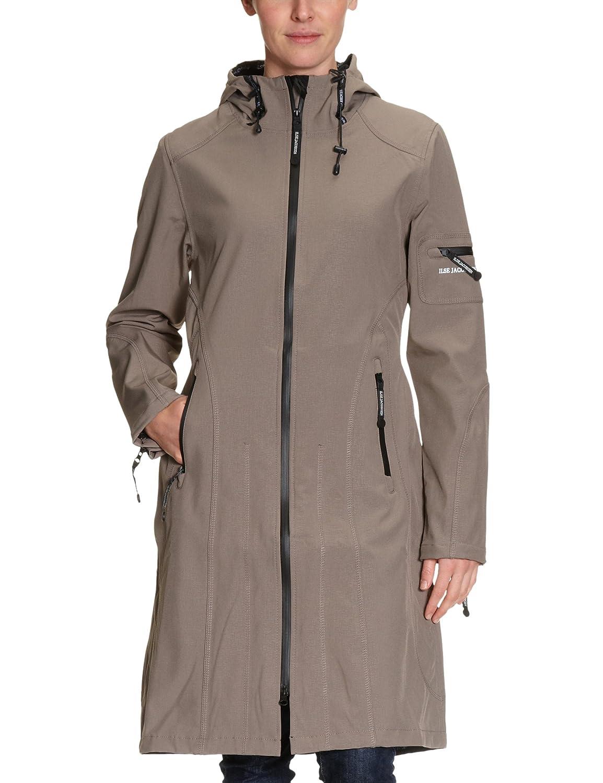 ILSE JACOBSEN Women's Hooded Long Sleeve Raincoat