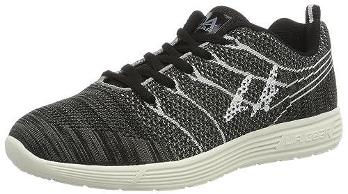 L.A. GearMalibu - Zapatillas Mujer, Color Negro, Talla 39