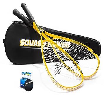 Victor Viper GT - Juego de raquetas de squash (2 unidades ...