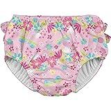 アイプレイ iplay オムツ機能付 水遊び用パンツ スイムダイパー スイミングパンツ 女の子 L:18ヶ月/10-11.5kg Light Pink Dragonfly Floral