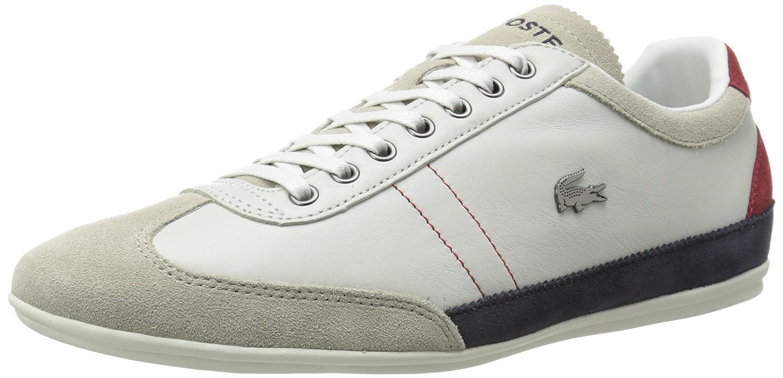 Amazon.com | Lacoste Men's Misano 15 Lcr Casual Shoe Fashion Sneaker, Off  White/Blue/Red, 12 M US | Fashion Sneakers