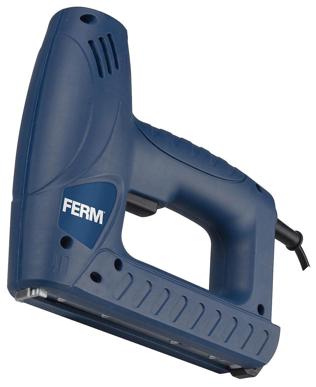 FERM Combi Agrafeuse /électrique Incl 400 Pinces et 100 Clous