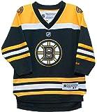 Boston Bruins Reebok Home Black Child Jersey (4-7)