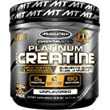 MuscleTech Platinum 100% Creatine, Ultra-Pure Micronized Creatine Powder, 80 Servings, (400g) FREE 100g BONUS