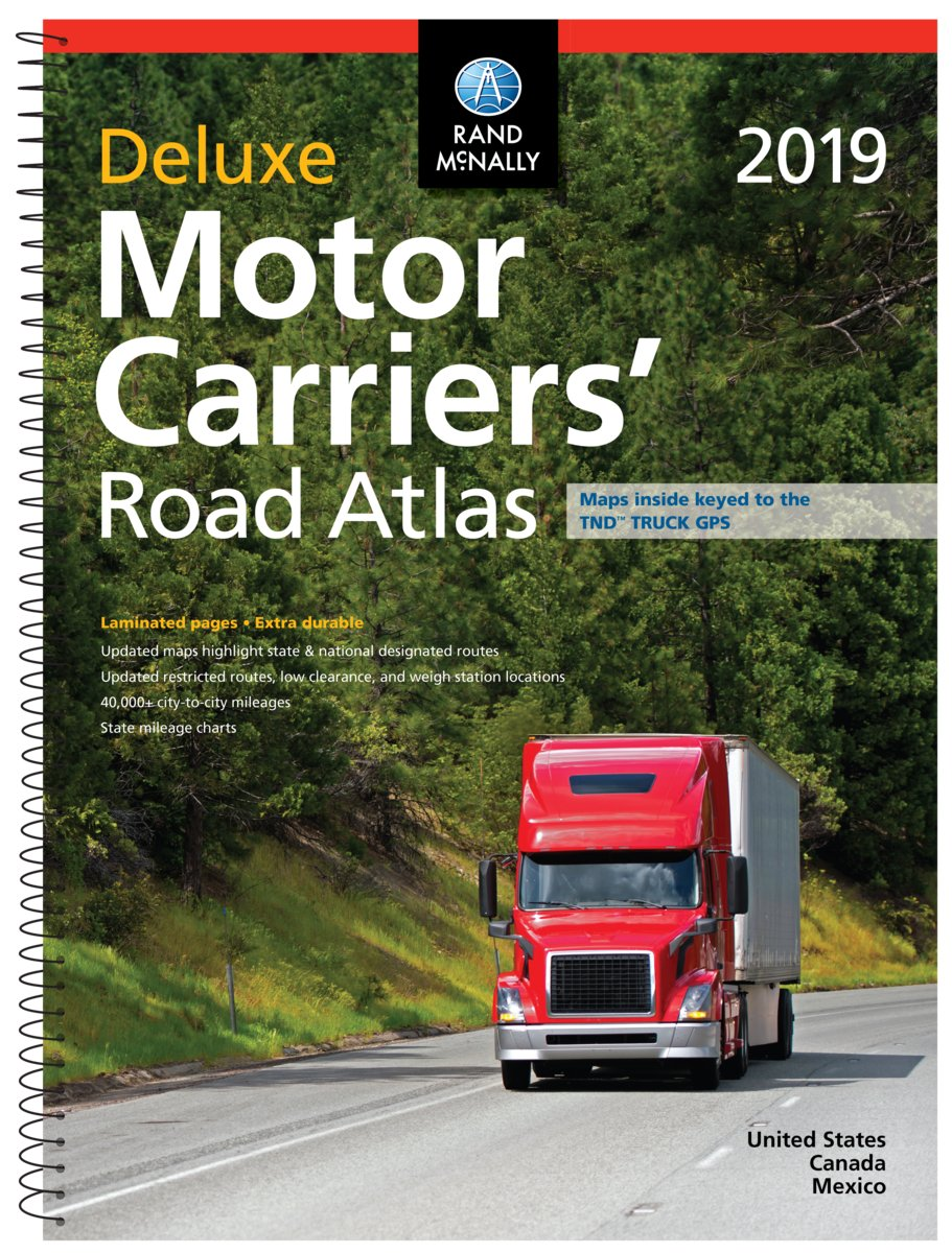 Rand McNally 2019 Deluxe Motor Carriers' Road Atlas (Rand McNally Motor Carriers' Road Atlas) pdf