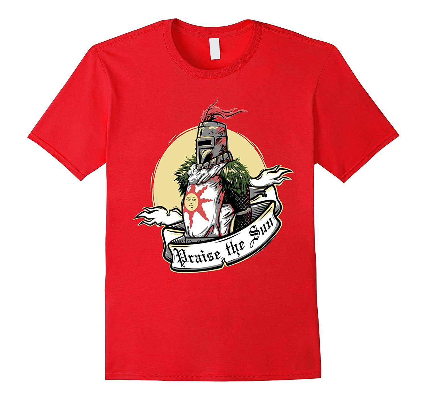 Solaire of Astora praise the sun t shirt-Art