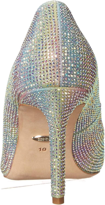 Rainbow Textile Details about  /Badgley Mischka Women/'s Godiva Pump  8.5