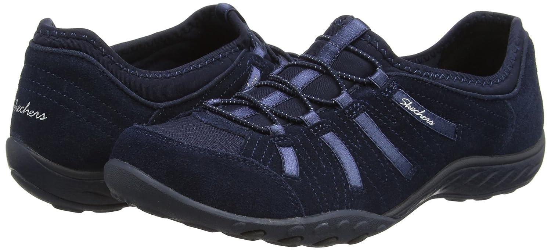Skechers Damen Breathe-Easy Bucks Big Bucks Breathe-Easy Sneakers Blau (Marineblau) 431350