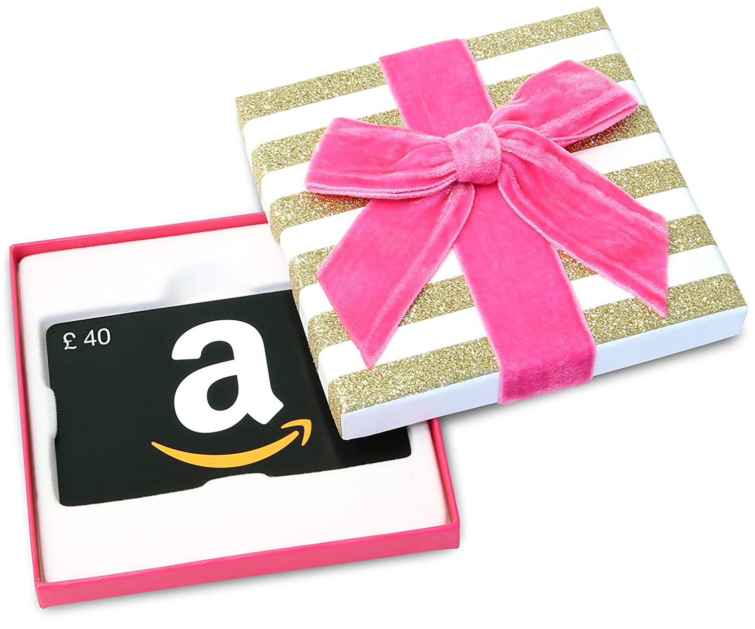 Amazon.co.uk Gift Card in a Gift Box - FREE One-Day Delivery Amazon EU S.à.r.l. Fixed