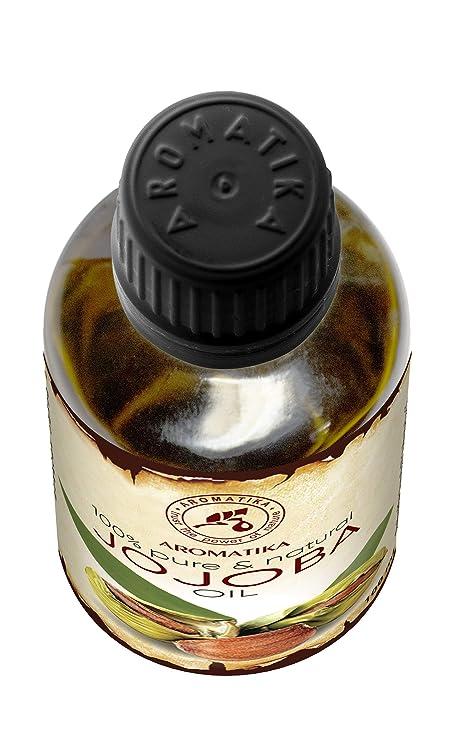 Aceite de Jojoba 100ml - Simmondsia Chinensis - Argentina - 100% Puro y Natural - Cuidado para el Rostro - Cuerpo - Cabello - uso Puro con Aceites ...