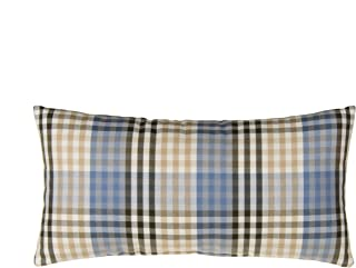 product image for Glenna Jean Air Traffic, Pillow Plaid Lumbar, Blue/Red