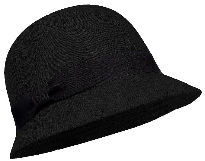 d59097359 DRY77 Summer Cloche Hat Cambric Linen Gatsby Bucket Bowler Church Cool Sun  Women
