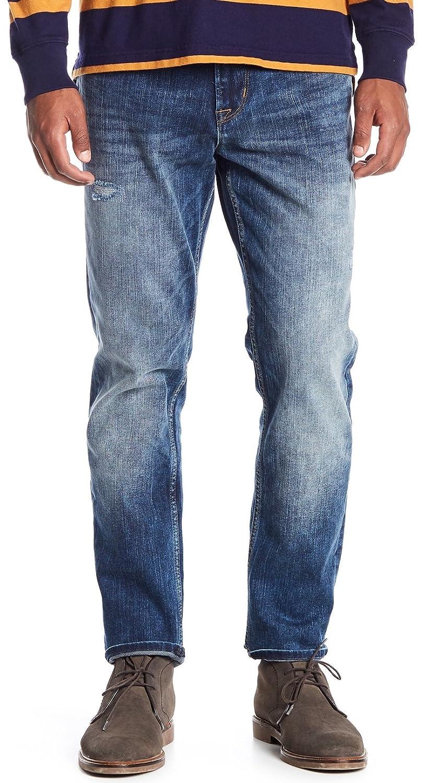 41efad0b30b Amazon.com: Hudson Jeans Men's Sartor Relaxed Skinny Jeans in Warp Speed  Denim: Clothing