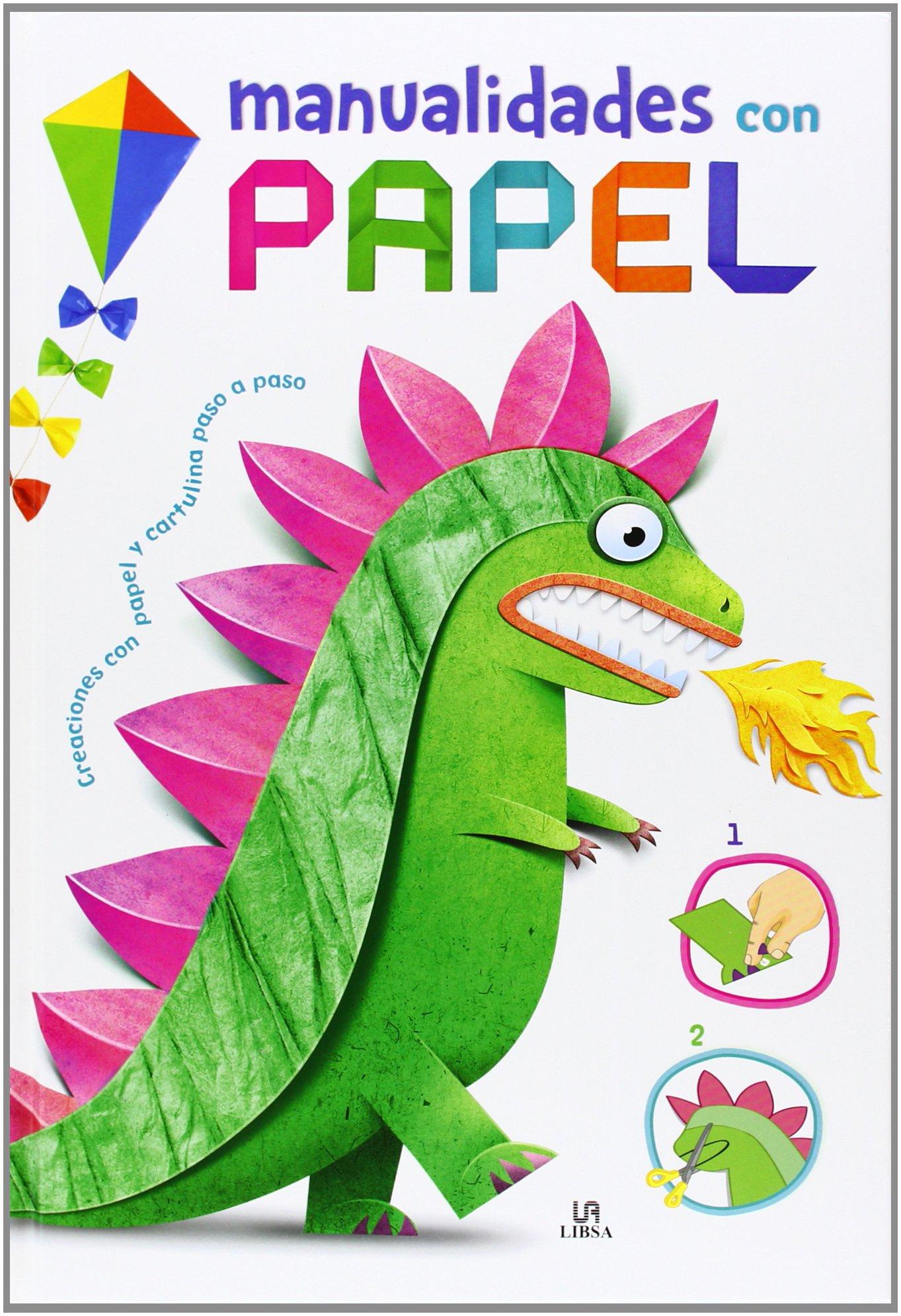 manualidades con papel manualidades para niños amazon es aa vv