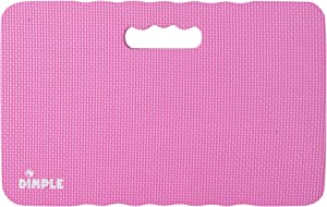 Dimple DC14013PI, High Density Thick Foam Comfort Kneeling Mats Yoga Exercise, Garden Cushions, Knee Pads, Pink