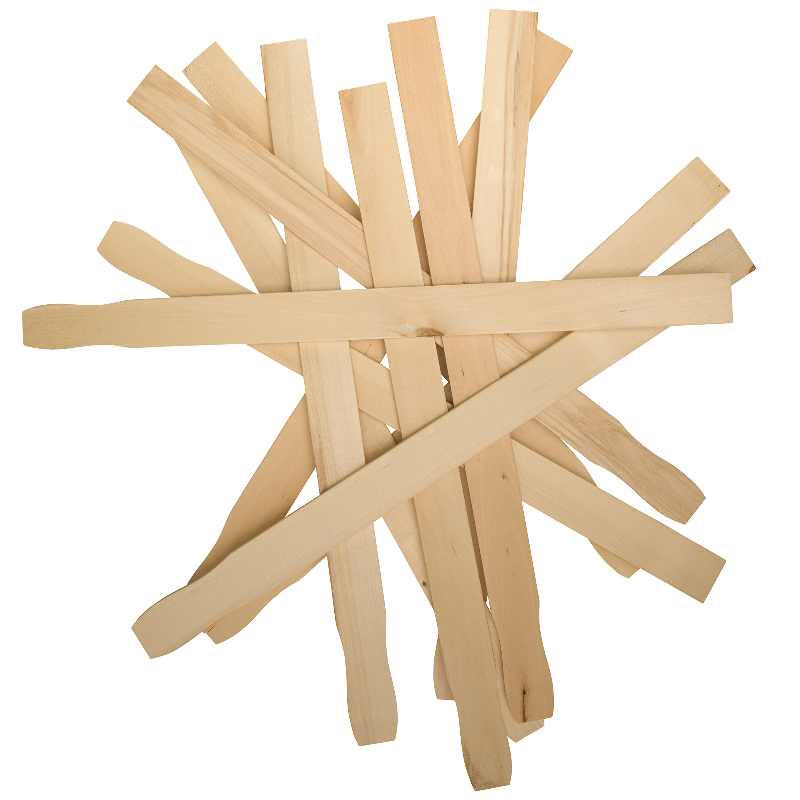 Woodpeckers 100 Piece Stir Sticks Paint Paddle for Mixing Paint/Epoxy/Resin, Multi-Use Library and Garden by Woodpeckers