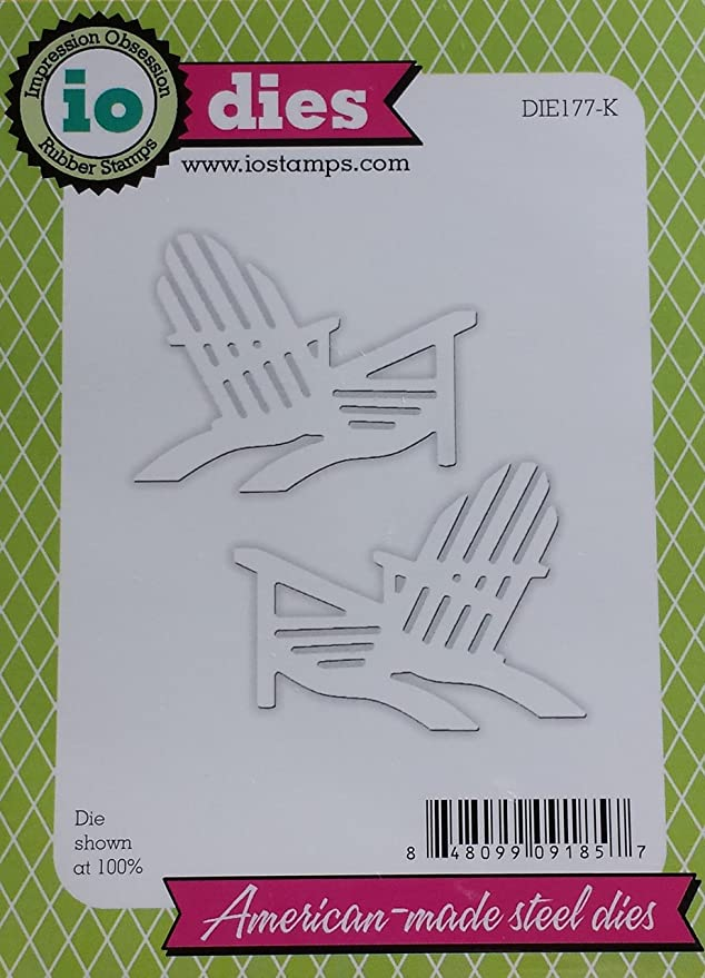 Impression Obsession Steel Die Beach Chairs