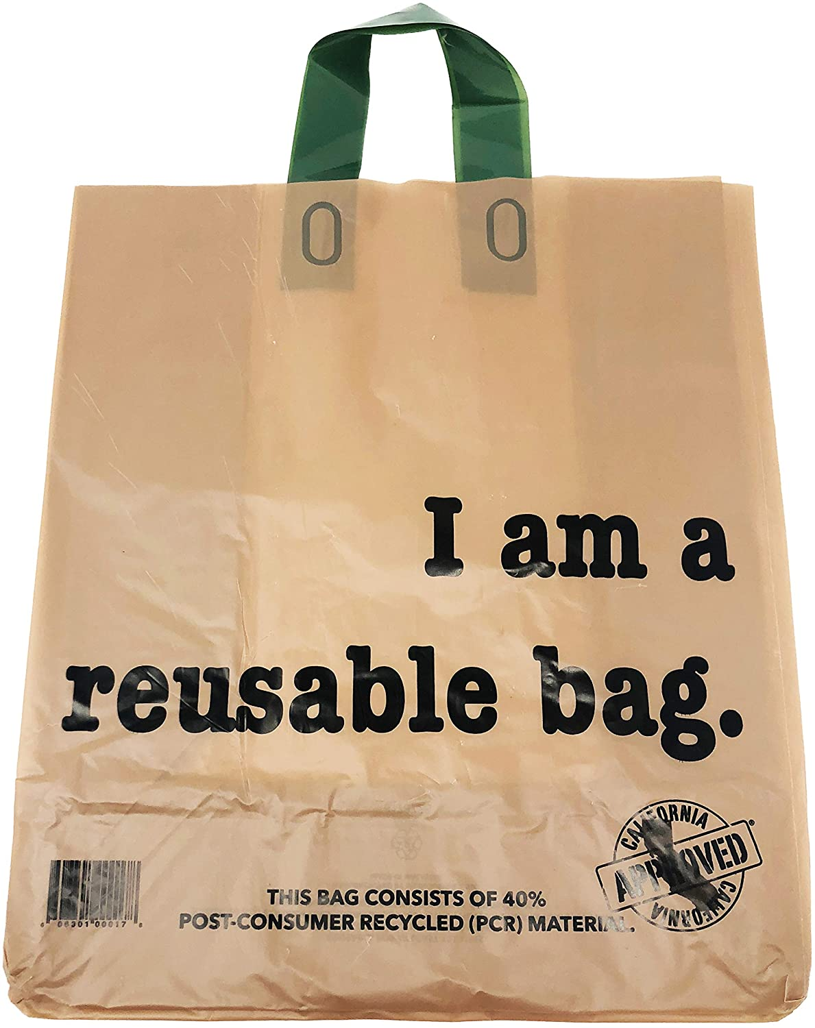 Reli. Shopping Bags, Reusable (250 Count Bulk; 2.25 mil Thick) Kraft Shopping Bags for Restaurant, Take Out, Retail, Grocery - Recyclable Shopping Bags (12
