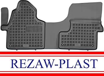 Amazon Com Rezaw Plast All Weather Rubber Floor Mat For Mercedes Sprinter 2007 2020 Custom Fit Cargo Van Only Automotive
