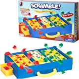 Scramble - Shape Sorting Board Game with A Twist! Race to Match The Shapes in The Right Slots to Against Your Opponent…