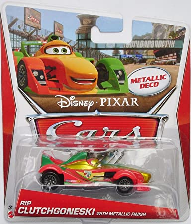 CARS 2 prima serie Personaggi in Metallo scala 1:55 Mattel Disney Pixar
