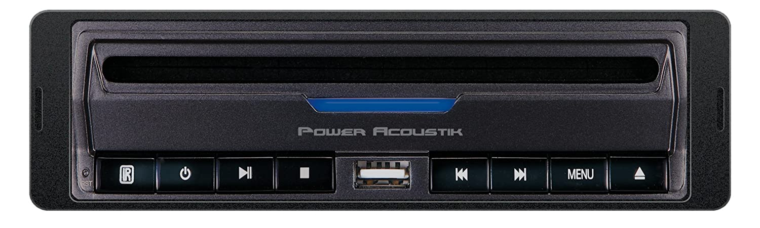 Power Acoustik PADVD-390 DIN Size in-Dash/Under-Dash DVD Player with USB/SD Input