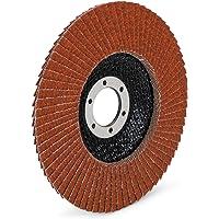 10 stuks/premium lamellenschijven set/bruin/Ø 125 mm/mixpack (elk 2 x korrel 40-60 elk 3x korrel 80-120) / standaard…