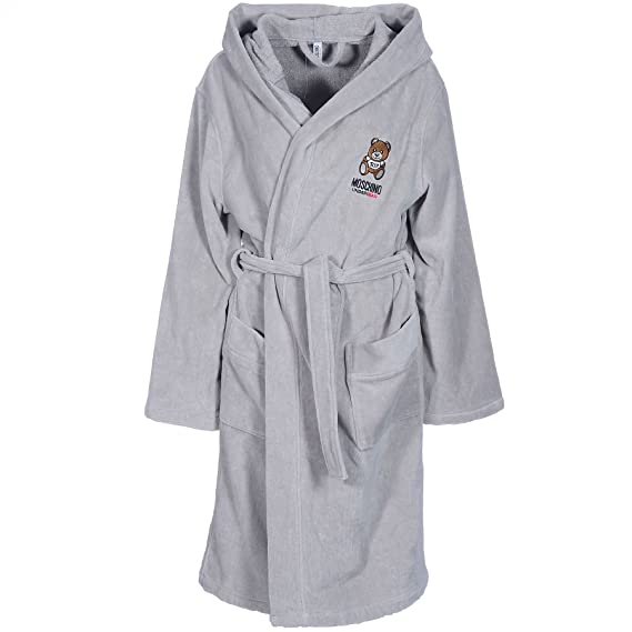 Moschino Ladies Pure 100% Cotton Luxury Bath Robes Dressing Gowns ...