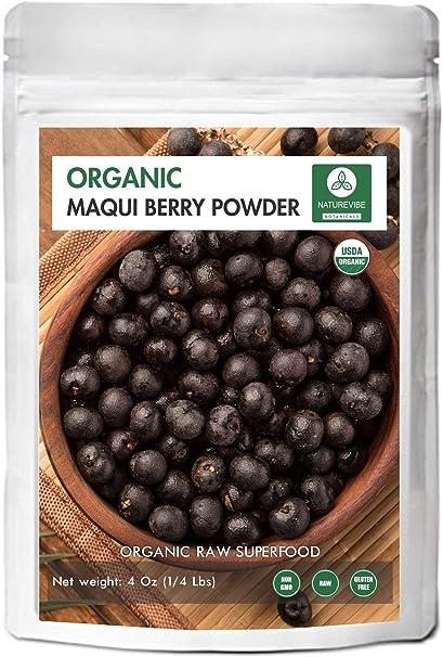 Amazon Com Organic Maqui Berry Powder 1 4 Lb By Naturevibe