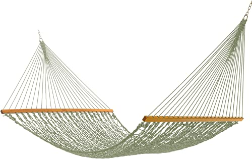 Nags Head Hammocks NH15MDW Admiral Meadow Duracord Rope Hammock