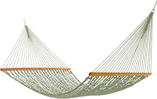 product image for Nags Head Hammocks NH15MDWAdmiral Meadow DuracordRope Hammock with Free Extension Chains & Tree Hooks, Handcrafted in The USA, Accommodates 2 People, 450 LB Weight Capacity, 13 ft. x 65 in.