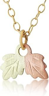 product image for Black Hills Gold Leaf Pendant