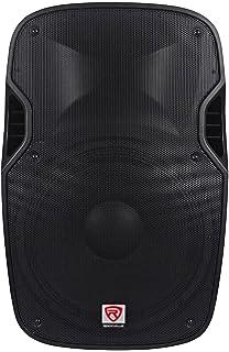 "2 Rockville SPGN158 15/"" Passive 1600W DJ PA Speakers Lightweight Cabinet 8 Ohm"
