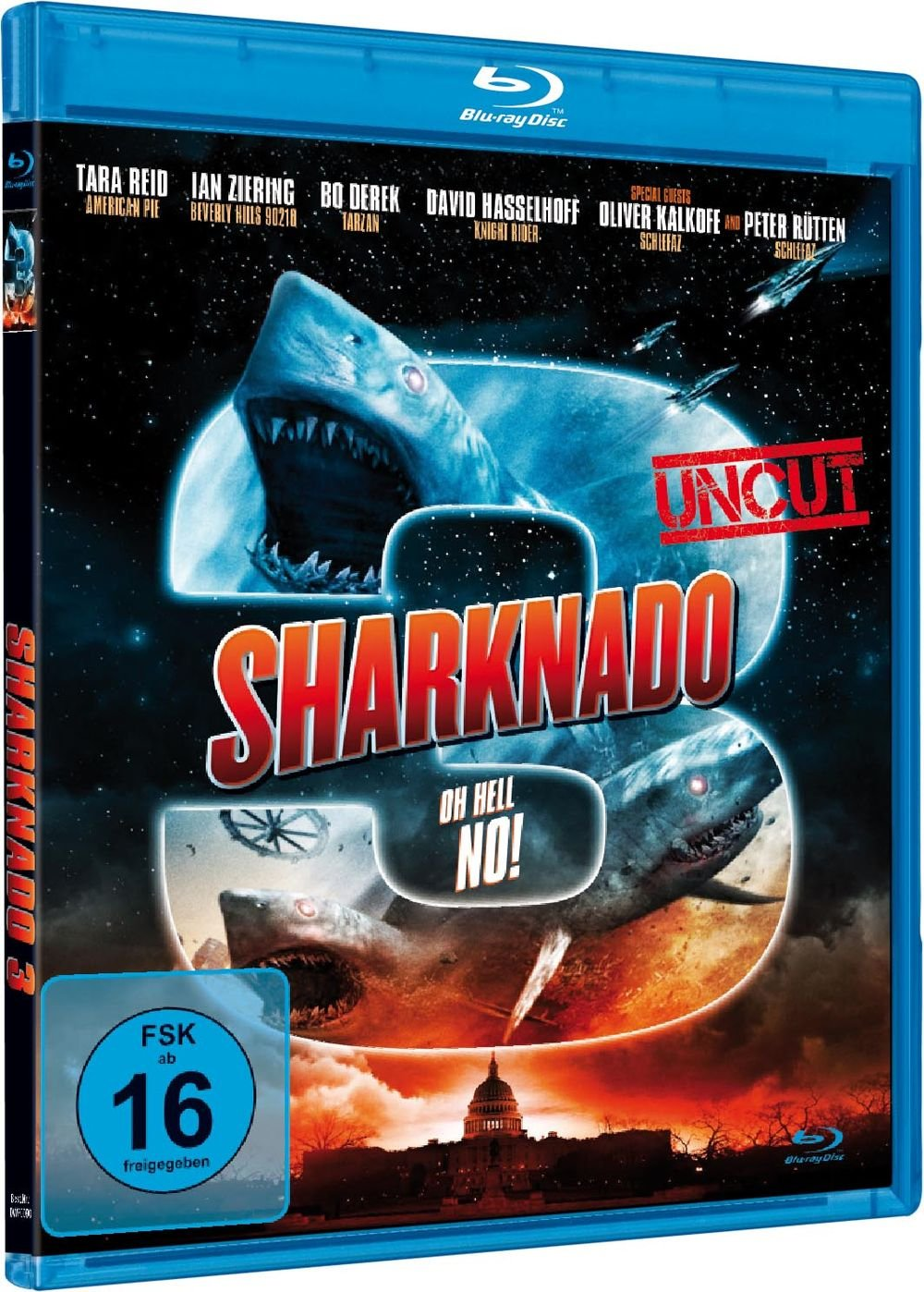 Sharknado 3 - Oh Hell No! [Francia] [Blu-ray]: Amazon.es: David ...