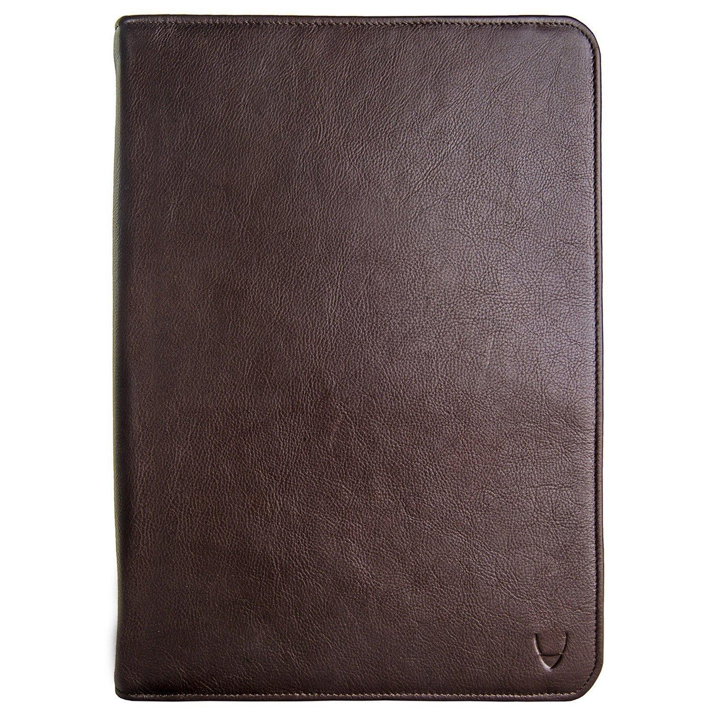 Hidesign IMG iPadレザーポートフォリオ/ Padfolio withハンドメイドペーパーノートブック B015KVHINA ブラウン